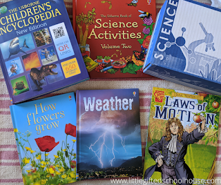 Bookshark Level A Science Curriculum Books and Experiment Kit