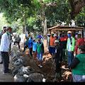 Bertempat di Kampung Cimahi 2 desa sidamulya  kecamatan cipunagara rombongan Bupati Subang kang jimat