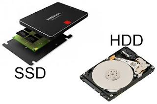 SSD dan HDD
