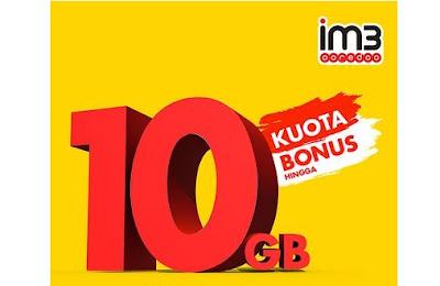 Cara Mendapatkan Bonus Kuota Indosat 10 GB Terbaru 2019
