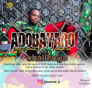 New Music:Murtal Jr-Adobayaro-(prod by SmGbeatz)