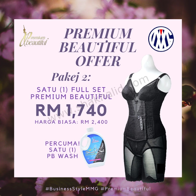 premium beautiful offer pakej 2