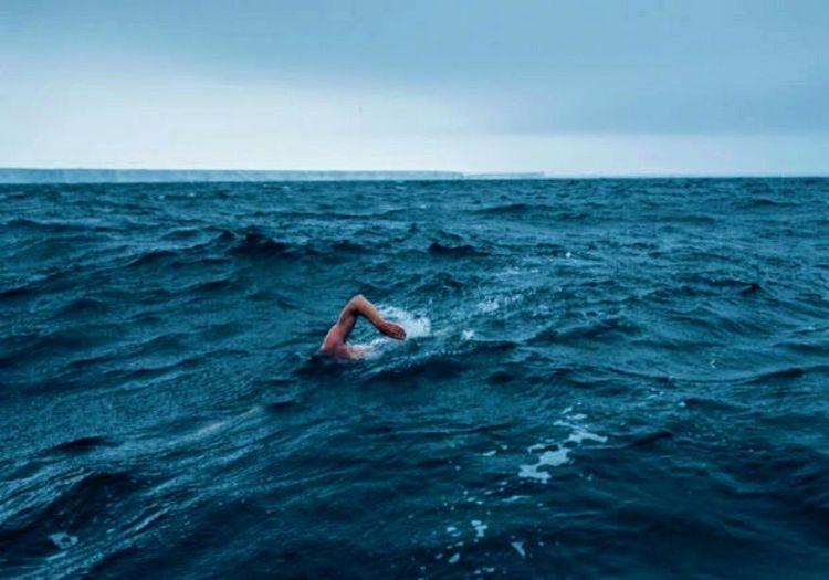 Dalgalı denizde yüzmek oldukça yorucuydu, fakat hayatta kalabilmesi için yüzmekten başka çaresi yoktu.