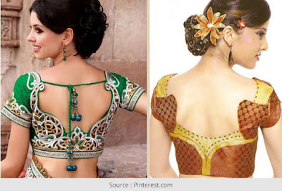 Fancy-saree-blouse-back-neck-designs-pattern-for-women-2