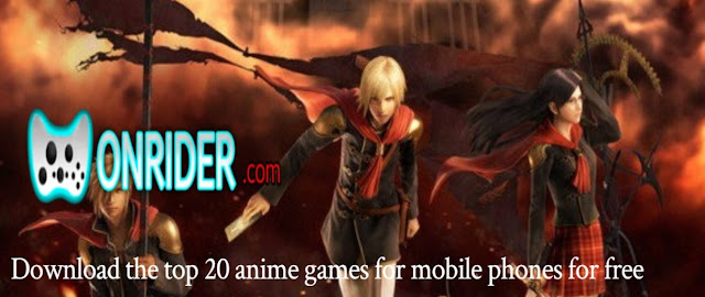 Download the top 20 anime games for mobile phones for free