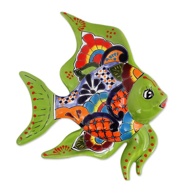 Angelfish Ceramic Wall Décor