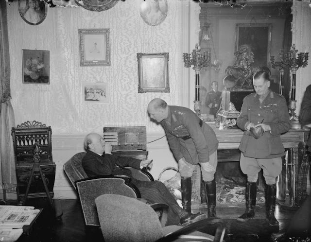 5 November 1939 worldwartwo.filminspector.com Churchill Lord Gort
