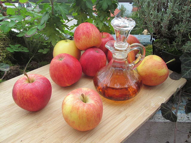 وصفة خل التفاح للشعر