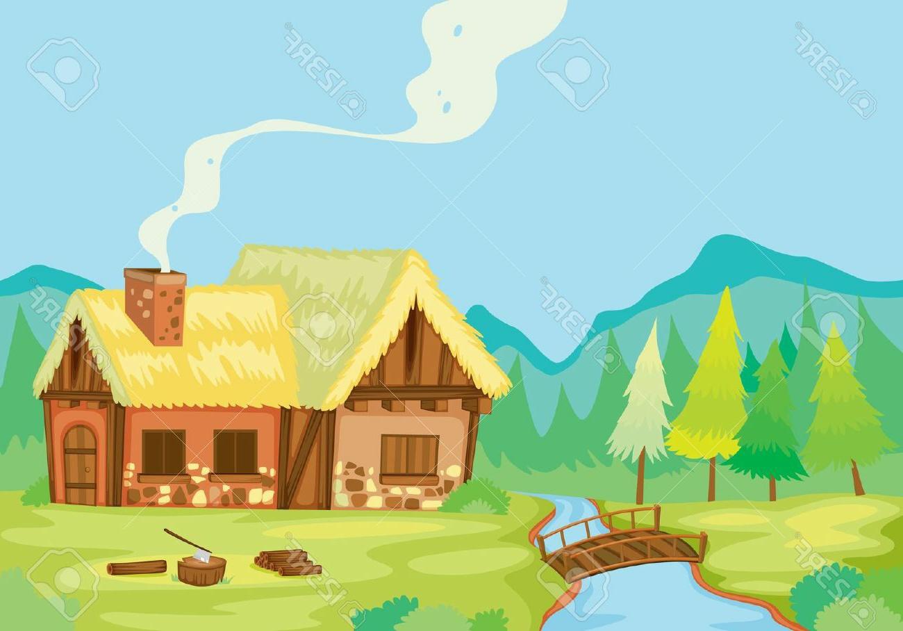 Gambar Gambar Kartun Gunung Terbaru Wallpaper Animasi