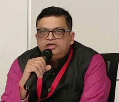 भाजपा की नई टीम में फिर से प्रवक्ता बने नोएडा के गोपाल कृष्ण अग्रवाल