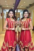 Jenny Honey in Stunning Dark Red Anarkali Dress at Splurge   Divalicious curtain raiser ~ Exclusive Celebrities Galleries 107.JPG