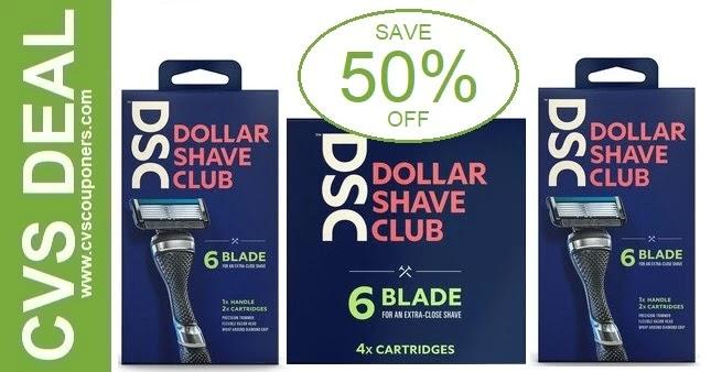 Dollar Shave Club CVS Coupon Deals