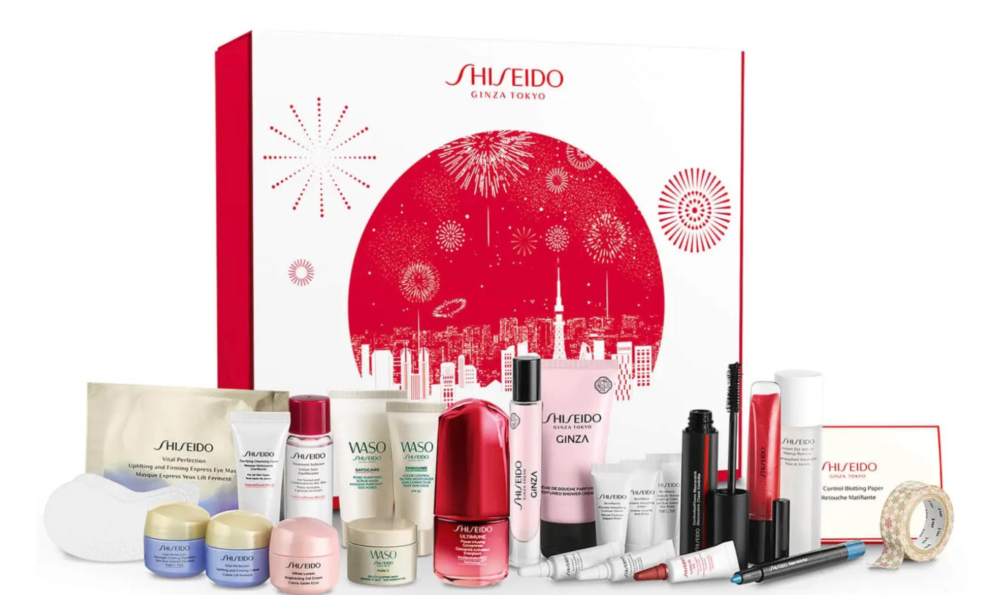shiseido advent calendar