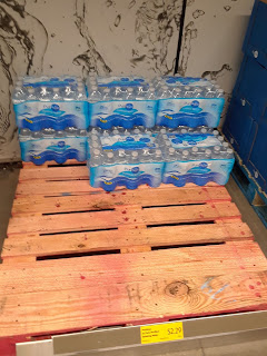 ALDI bottled water