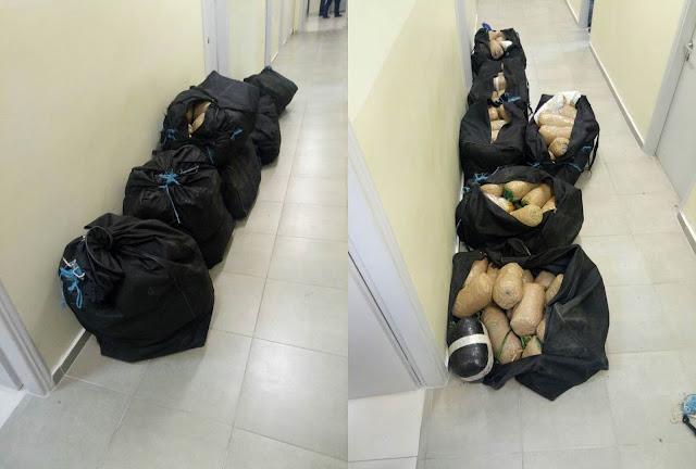 Θεσπρωτία: Συνελήφθησαν 7 αλλοδαποί που μετέφεραν με τα πόδια 125 κιλά κάνναβης