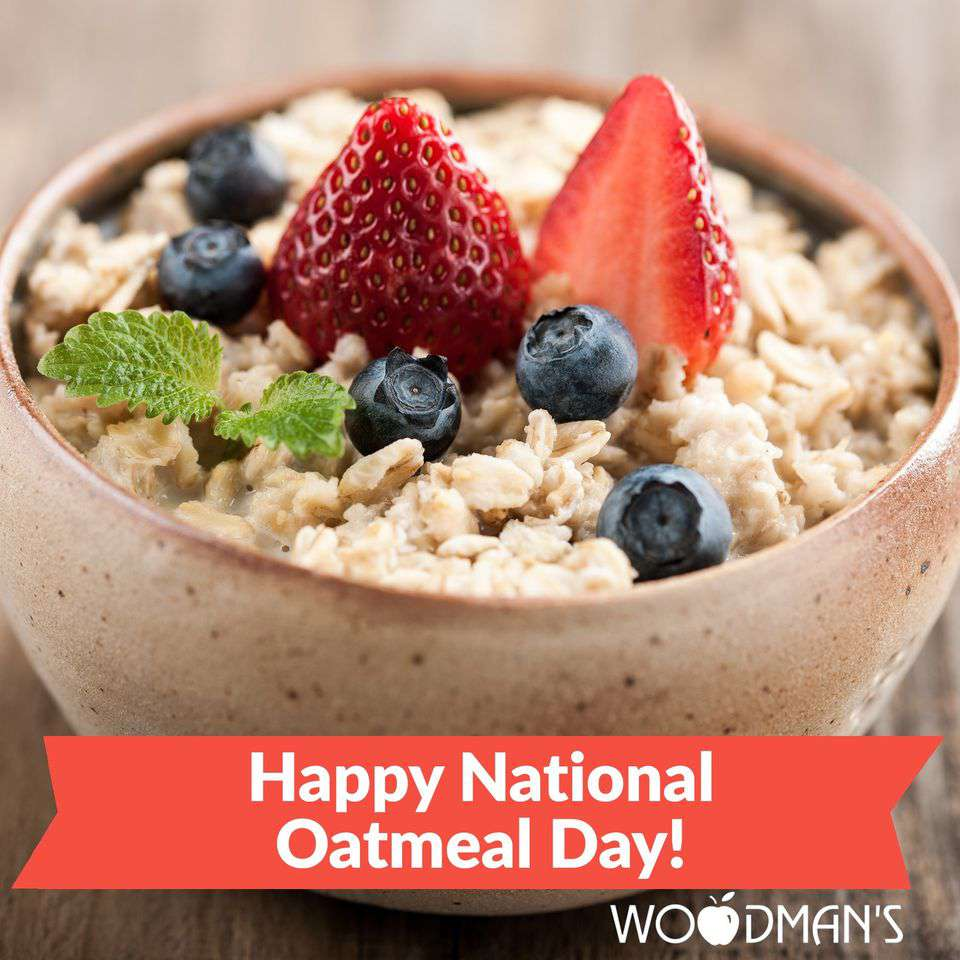 National Oatmeal Day Wishes for Whatsapp