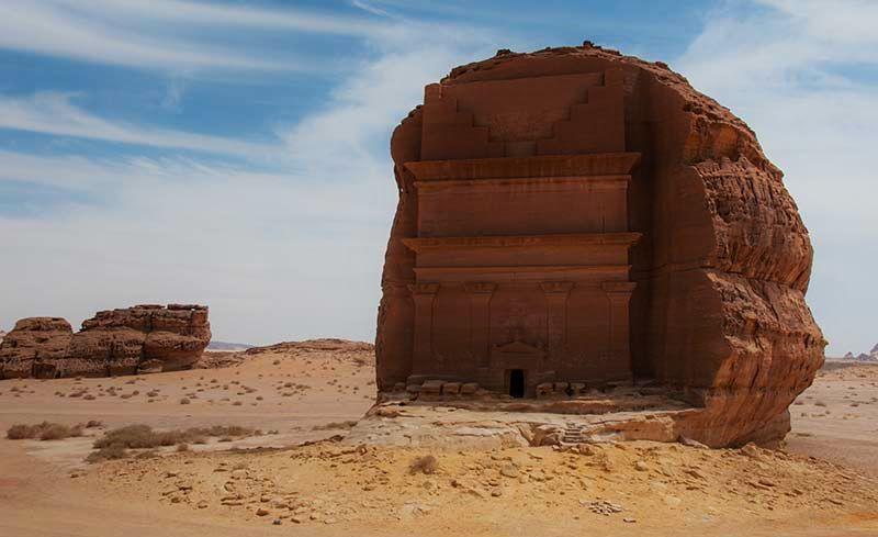 Madain-Saleh-archeological-site-Saudi-Arabia
