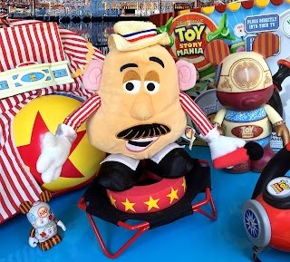 Toy Story Mania Boadwalk Barker Mr. Potato Head Plush