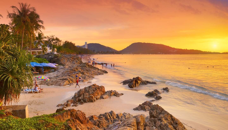 Пляж Патонг в Тайланде