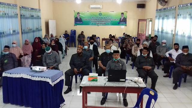 Kakankemenag Aceh Utara Buka Acara 'Desiminasi Moderasi Beragama dan Wawasan Kebangsaan'