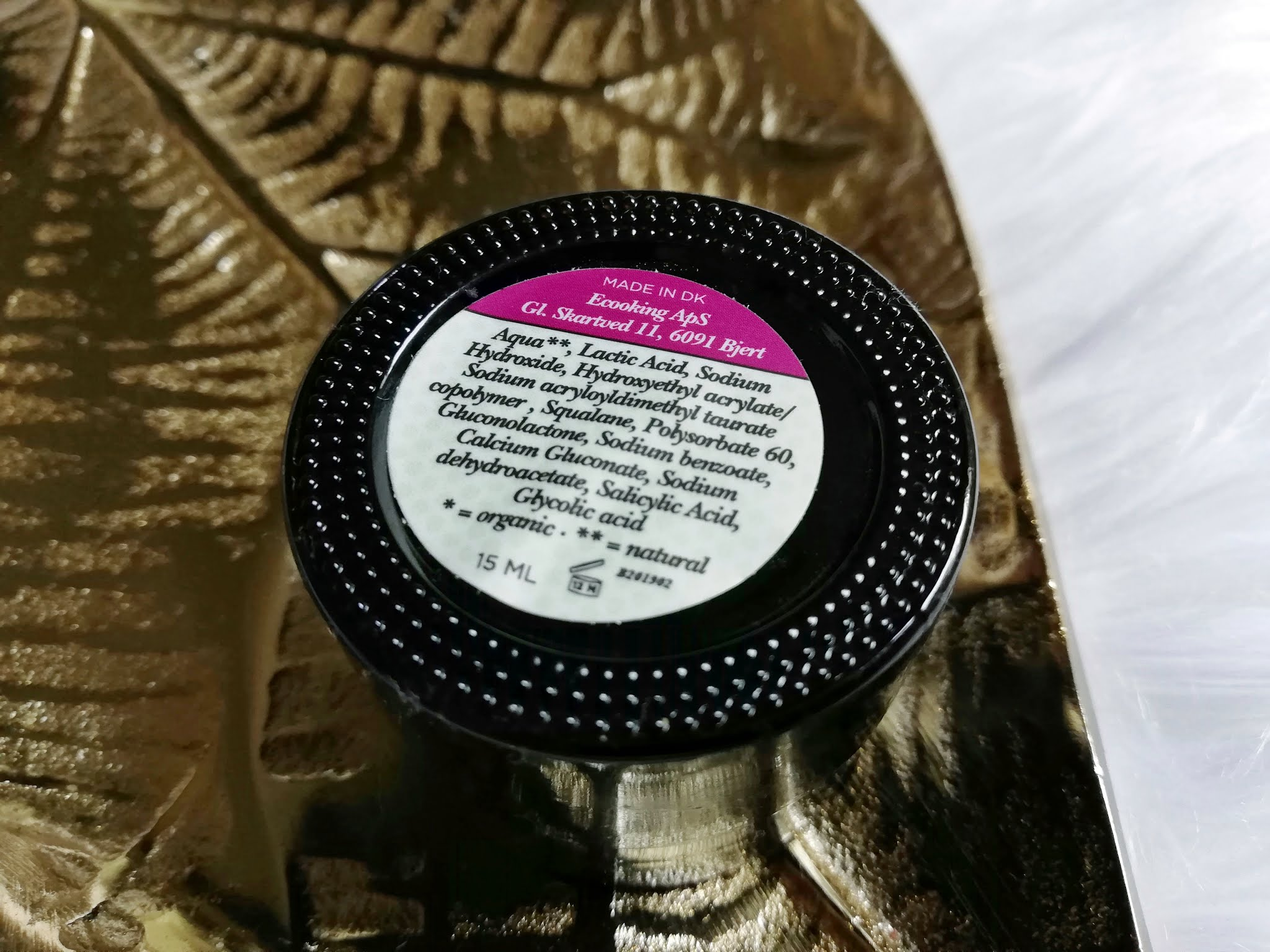 ecooking denmark skincare peeling mask