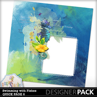 Digital Gesso Work and Free Quick Page