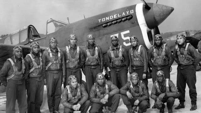 Tuskegee, Segunda Guerra Mundial, Grupo de pilotos negros