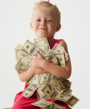Hija con mucho dinero