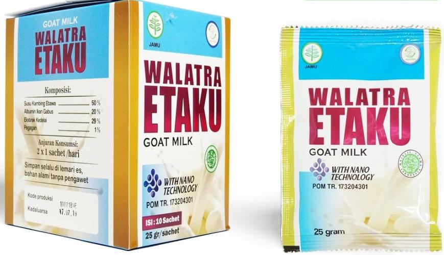 Susu Kambing Etawa Bubuk Walatra ETAKU