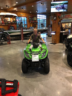 ATV, Green ATV, Arctic Cat