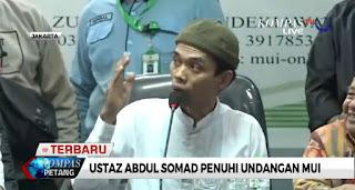 Ceramahnya Viral dan Dilaporkan ke Polisi, Ini Tanggapan dan Klarifikasi Ustadz Abdul Somad