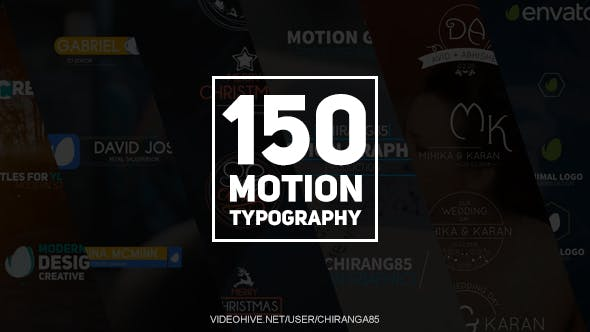 150 Motion Typography[Videohive][After Effects][20949185]