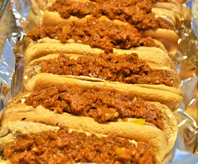 Oven coney dogs