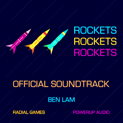 ROCKETSROCKETSROCKETS Official Soundtrack Album Cover