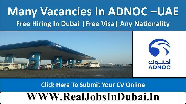 Abu Dhabi National Oil Company Jobs In Dubai - UAE 2020