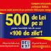 Concurs Delikat - Castiga 500 de lei pe zi