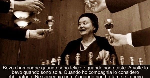 Conosciuto Aforismario®: Champagne - Frasi e battute divertenti LQ33