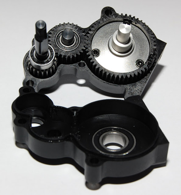 Axial AX10 transmission gears