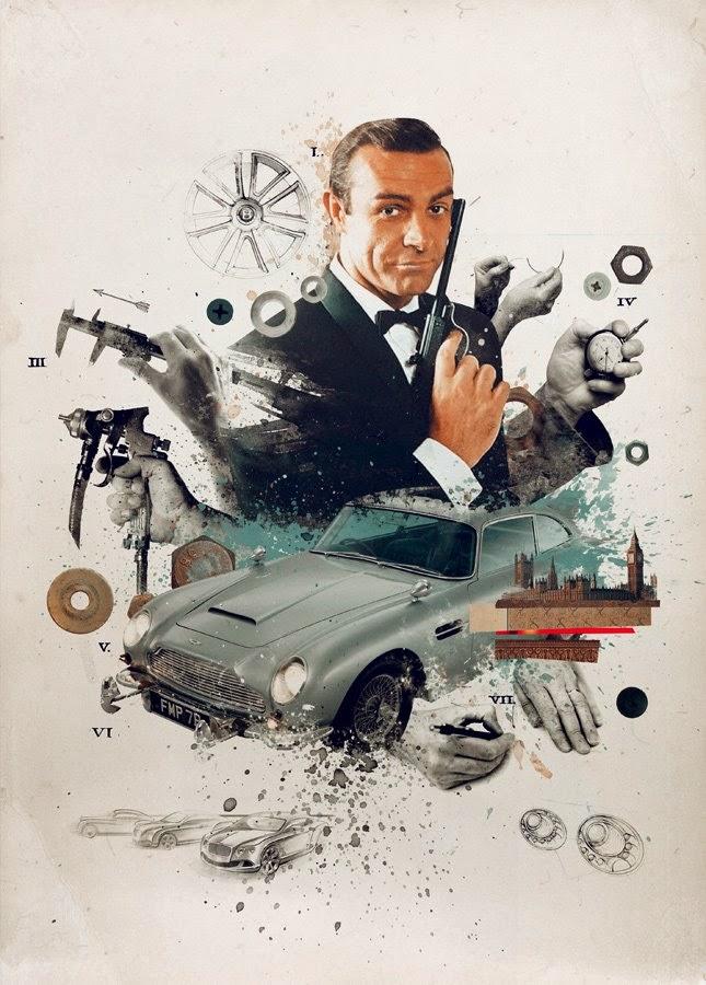 Damien Vignaux - Graphic Design - James Bond