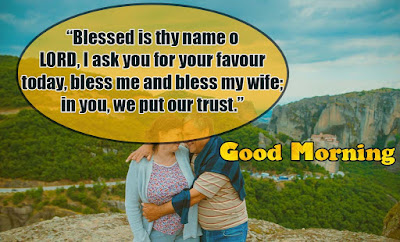 Good Morning Prayer images for wife