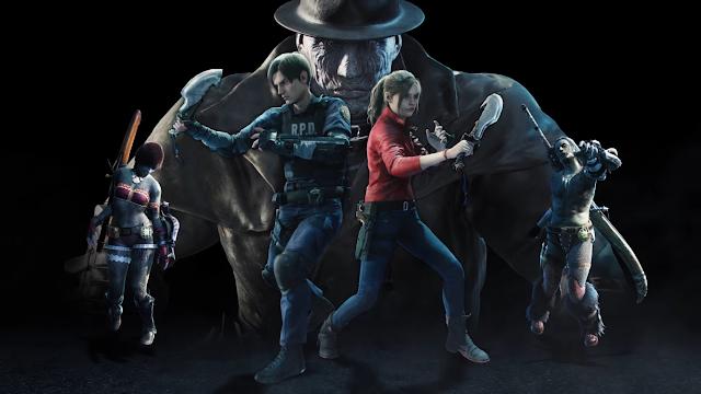 Zumbis invadem Monster Hunter World em evento temático de Resident Evil 2