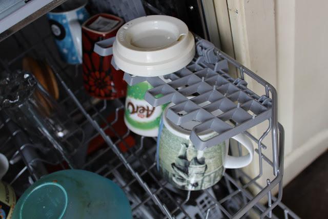 flaps on dishwasher