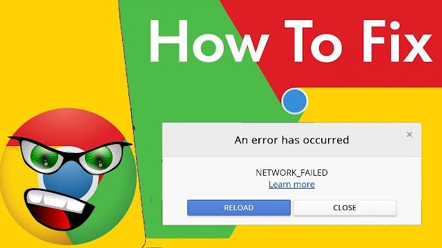 حل مشكلة تنزيل الاضافات من سوق كروم الاكتروني   NETWORK FAILED