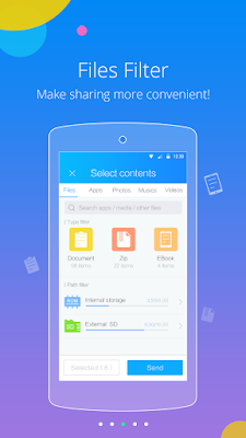SHAREit APK Fast and free file transfer
