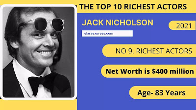 9 of 10 world richest actors in the world