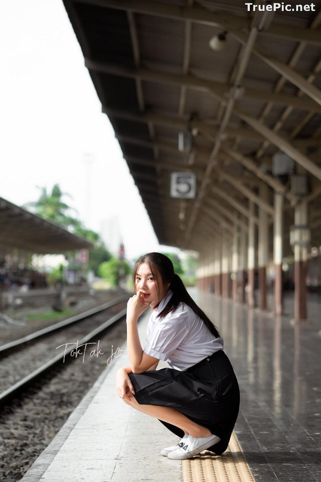 Image Thailand Model - Kornrawee Chokejindachai - Cute Student Girl - TruePic.net - Picture-8