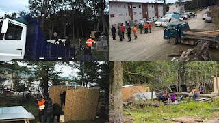 Okupas Andorra desarmaron las casillas