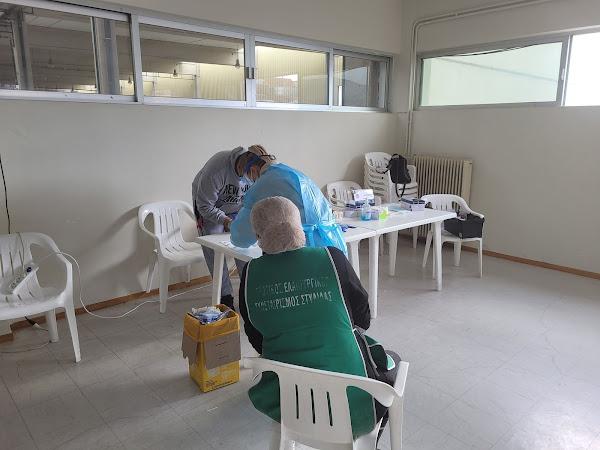 Αγροτικός Ελαιουργικός Συνεταιρισμός Στυλίδας - Πραγματοποίηση rapid test στους εργαζόμενους