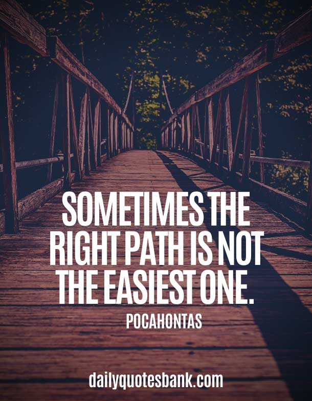 Inspirational Quotes About Paths