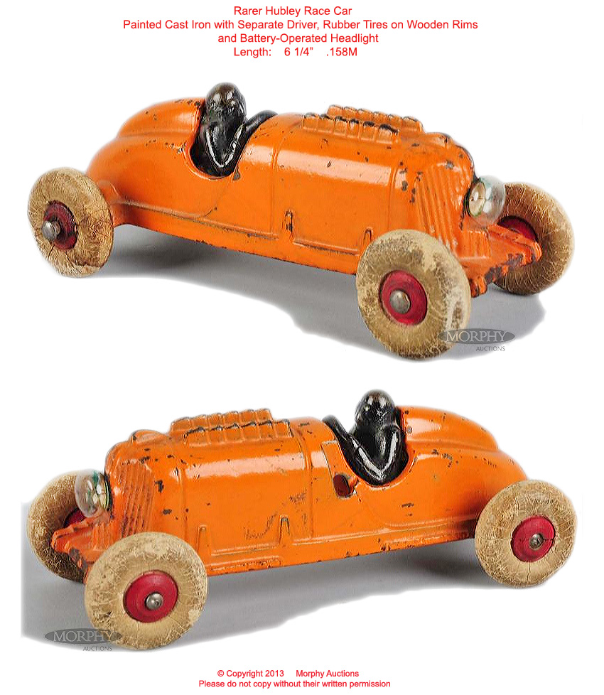 Old Antique Toys: Old Cast Iron Racers